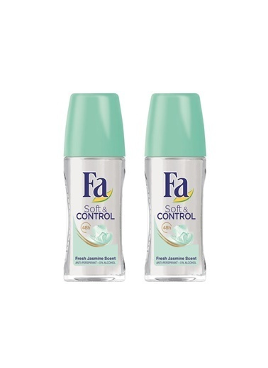 Fa Fa Soft & Control Roll-On 50 Ml 2'Li Paket Renksiz